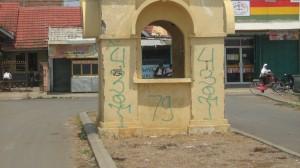 Pintu Gerbang Blok B Taman Kerinci