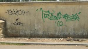 Dinding Gerbang Blok B Taman Semeru
