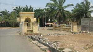 Gerbang Utama Puri Cendana Tempo Doeloe